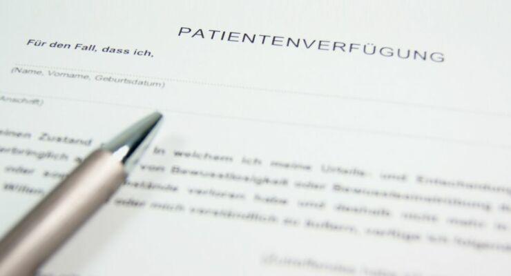 Patientenverfügung Schweiz erstellen Muster Vorlage FINA