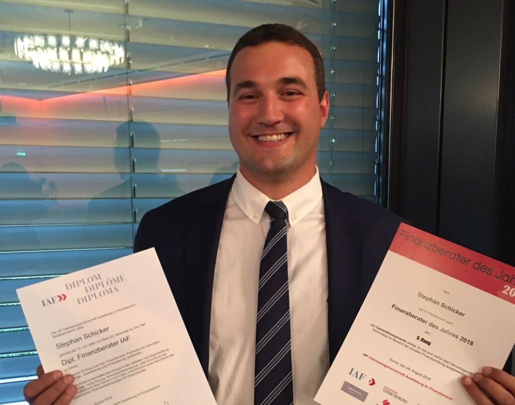 stephan schicker fina finanzplanung finanzberater des jahres 2018