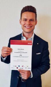 Finanzberater des Jahres Gabriel Maeder FINA Finanzplanung