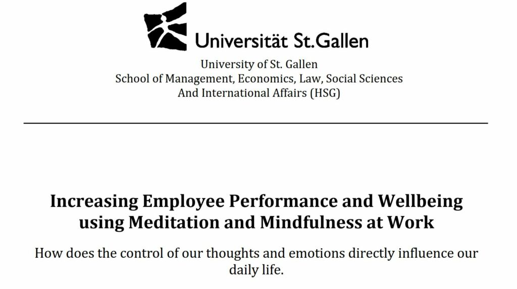 Meditation and Mindfulness at Work, Lisa Morgenegg
