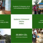Sauberes Trinkwasser Zusammenfassung in Odisha FINA Klimaneutral